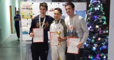 Поздравляем Невмянова Тамерлана с победой в 2-х турнирах в категории до 17лет!